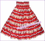 Hula Pa'u Skirt - 350Red