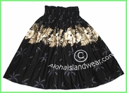 Hula pa'u Skirt - 412Black