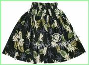 Hula Pa'u Skirt - 413Black