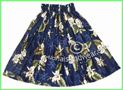Hula Pa'u Skirt - 413Navy