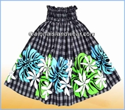 Hula Pa'u Skirt  -2519Black