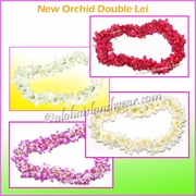 New Orchid Double Lei