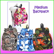 Medium Size Hawaiian print Backpack