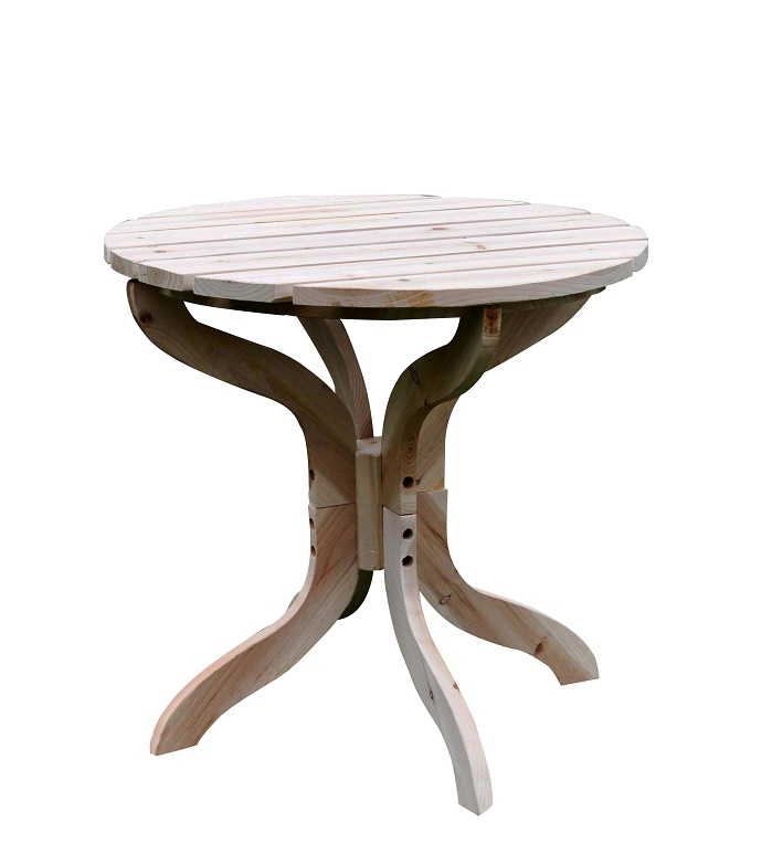 Classic Round Adirondack Side Table