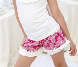A Little Posh Sweet Butterfly Ruffle Shorts<br>Sizes 2T - 12