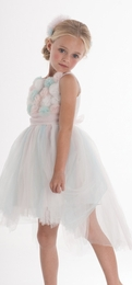 "Biscotti ""Origami Garden"" Beautiful Ballerina Hi Low Dress"