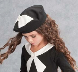 "Biscotti ""Perfect Harmony"" Black & Ivory Hat"