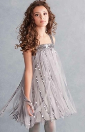 "Biscotti Silver & Black ""Gatsby Girl"" Stunning Flapper Dress ""PREORDER"""