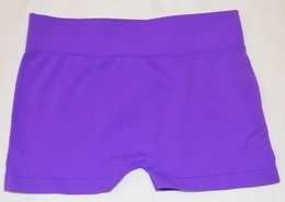 Butterflies & Zebras Deep Purple Boy Dance Short<br>One Size Fits 7-14
