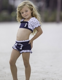 "Chichanella Bella ""Rowboat Rosie"" Precious Nautical Two Piece Swimsuit *PREORDER*<br>2T - 10"