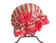 "Chichanella Bella ""Cabana Cutie"" Striped Bonnet *FINAL SALE*"