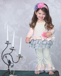 """Giggle Moon """"Graced"""" Gorgeous Pink & Grey Swing Set<br>*PREORDER*"""