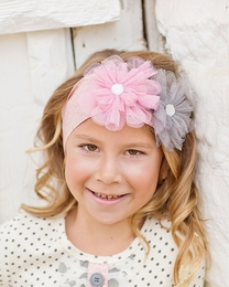 """Giggle Moon """"Graced"""" Sweet Cotton Head Wrap<br>*PREORDER*"""