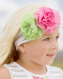 Giggle Moon Green Pastures Knit Headband *PREORDER*<br>Sizes Infant & Toddler