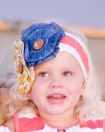 "Giggle Moon ""New Song"" Soft Knit Headband *PREORDER*<br>Sizes Infant & Toddler"