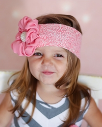 "Giggle Moon ""Singing Praises"" Soft Knit Headband SOLD OUT!"