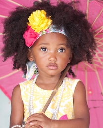"Giggle Moon ""Sweet as Honey"" Yellow Floral Wrap *PREORDER*<br>Sizes Toddler"