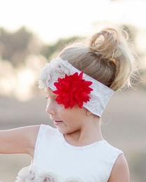 Giggle Moon Wedding Bells Soft Knit Headband *PREORDER*<br>Sizes Infant & Toddler