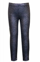 Hannah Banana Faux Cracked Leather Leggings