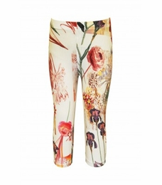 Hannah Banana Floral Capri Leggings<br>Sizes 7 - 14