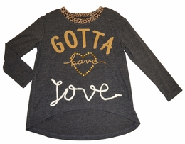 "Hannah Banana ""Gotta Have Love"" Tunic"