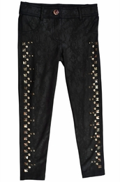 "Hannah Banana ""Studded Sky"" Faux Leather Jeggings *FINAL SALE* SOLD OUT!"