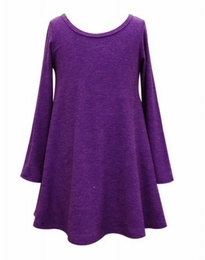 Hannah Banana Wallpaper Doll Purple Tunic Dress