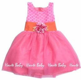 "Haute Baby ""April Bloom"" Stunning Spring Big Girl Dress"