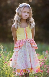 "Haute Baby ""April Showers"" Beautiful Summer Dress"
