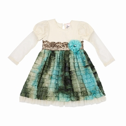 "Haute Baby ""Autumn Jade"" Beautiful Dress"