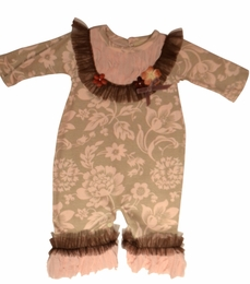 "Haute Baby ""C'est Chic"" Beautiful Baby Coverall *PREORDER*"
