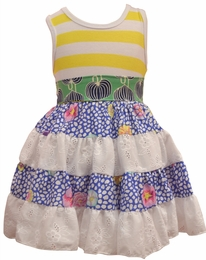 "Haute Baby ""Garden Party"" Precious Spring Dress <br>Sizes 4 - 6"