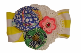 "Haute Baby ""Garden Party"" Toddler Embellished Headband <br>One Size"