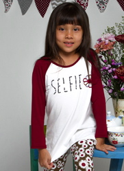 "Haven Girl Patch Hi-Lo ""Selfie"" Tunic Top *PREORDER*"
