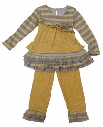 "Isobella & Chloe ""Butterscotch"" Two Piece Swing Set"
