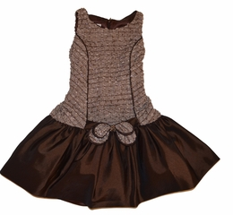 "Isobella & Chloe ""Karen"" Chocolate Drop Waist Dress *FINAL SALE*"