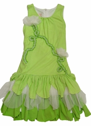 "Isobella & Chloe ""Key Lime"" Lime A-Line Knit Dress  ""PREORDER"""