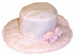 "Kate Mack ""Secret Garden"" Sweet Pink Hat"
