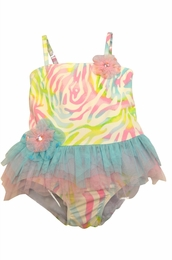 "Kate Mack ""Rainbow Connection"" Two Piece Tankini Swimsuit"