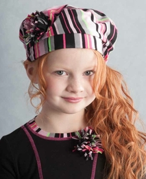 "Kate Mack ""Sassy Stripes"" Must Have Hat ""PREORDER"""