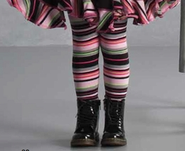 "Kate Mack ""Sassy Stripes"" Must Have Multi Striped Legging ""PREORDER"""