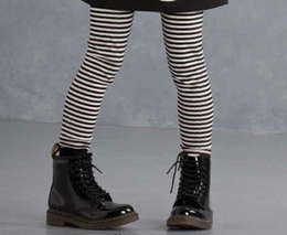 "Kate Mack Striped ""Puppy Love"" Legging"