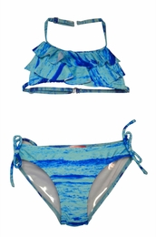 "Kate Mack ""Sunset Beach"" Blue Swim Bikini"