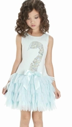 "Kate Mack ""Swan Lake Act 2"" Stunning Aqua Dress"