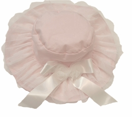 "Kate Mack ""Swan Lake"" Pink Hat<Br>Size 3m - 6X"