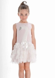"Kate Mack ""Swan Lake"" Soft Pink Dress With Soft Layers<Br>Sizes 2T - 6X"