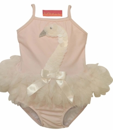 "Kate Mack ""Swan Lake"" Stunning Two Piece Tankini<Br>Sizes 3M - 4T **LOW INVENTORY"