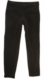 "Kate Mack Versatile Black Velour Jegging ""PREORDER"""