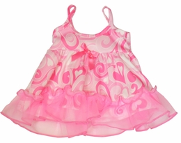"Laura Dare ""Swirly Dreams"" Valentine Precious 18"" Doll Gown"