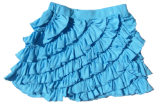 "Lemon Loves Lime Aqua Splash ""Ruffle"" Skort<br>Size 10"